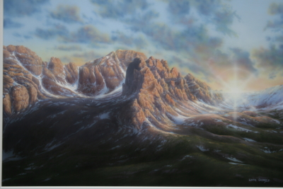 """Cathedral Peak"""