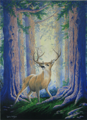 """Deer in Woods"""